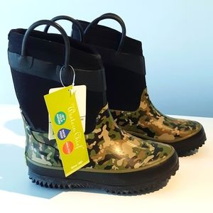 Wilderness camo rain / winter boots